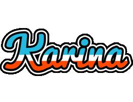 Karina america logo