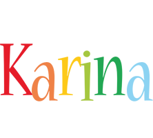 Karina birthday logo