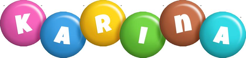 Karina candy logo