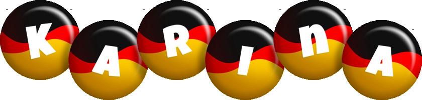 Karina german logo