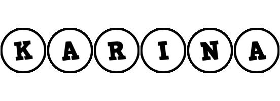 Karina handy logo