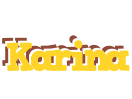 Karina hotcup logo