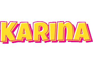 Karina kaboom logo
