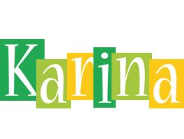 Karina lemonade logo