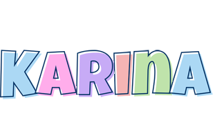 Karina pastel logo