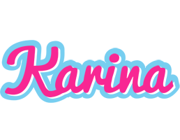 Karina popstar logo