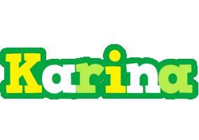 Karina soccer logo