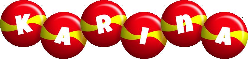 Karina spain logo