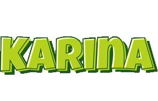 Karina summer logo