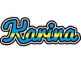 Karina sweden logo