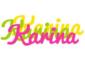Karina sweets logo
