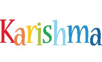 Karishma birthday logo