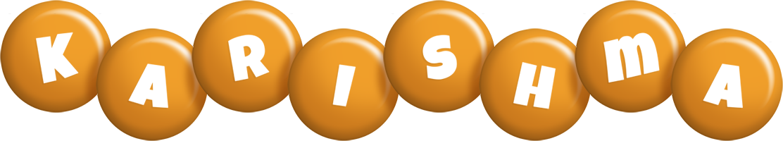 Karishma candy-orange logo