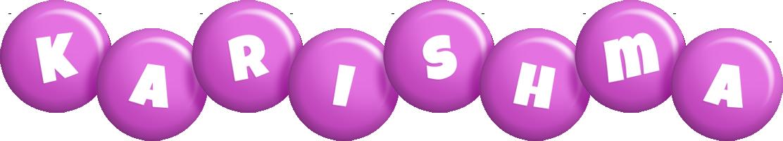 Karishma candy-purple logo