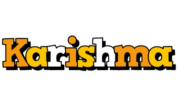 Karishma cartoon logo