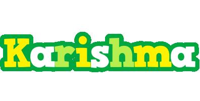 Karishma soccer logo