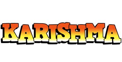 Karishma sunset logo