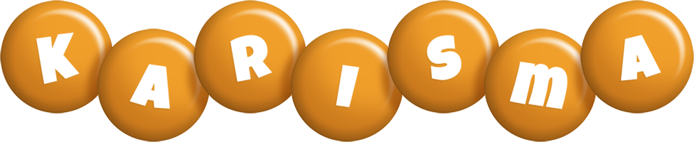 Karisma candy-orange logo