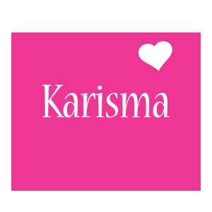 Karisma love-heart logo
