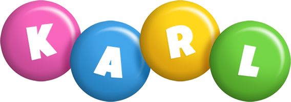 Karl candy logo