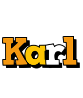 Karl cartoon logo