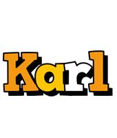 Karl cartoon logo
