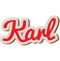 Karl chocolate logo