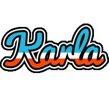 Karla america logo