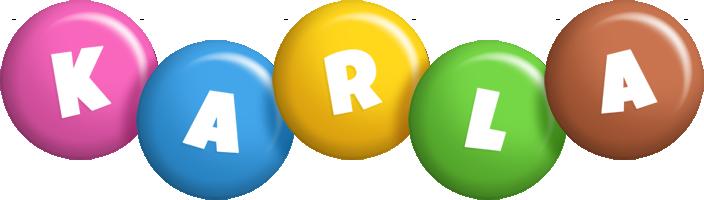 Karla candy logo