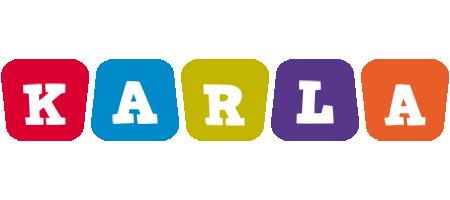 Karla daycare logo