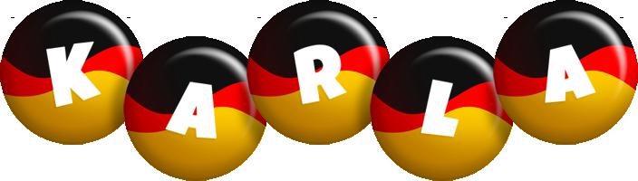 Karla german logo
