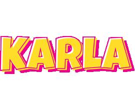 Karla kaboom logo