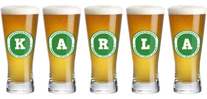 Karla lager logo