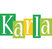 Karla lemonade logo