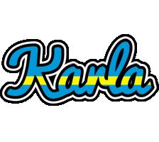 Karla sweden logo