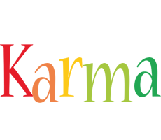 Karma birthday logo