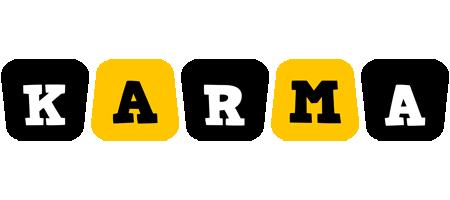 Karma boots logo