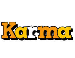 Karma cartoon logo