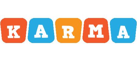 Karma comics logo
