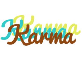 Karma cupcake logo