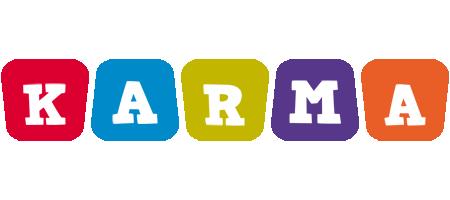 Karma daycare logo