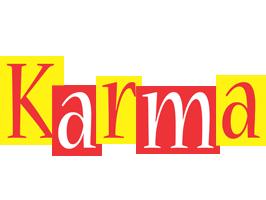 Karma errors logo