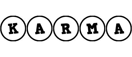 Karma handy logo
