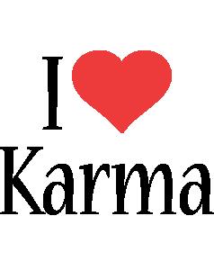 Karma i-love logo