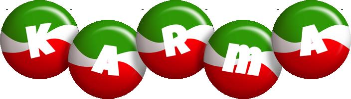 Karma italy logo