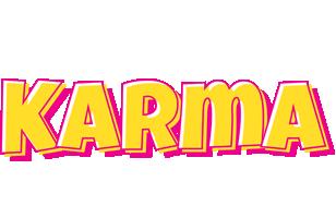 Karma kaboom logo