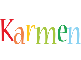 Karmen birthday logo