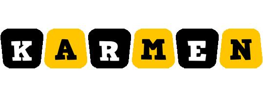 Karmen boots logo