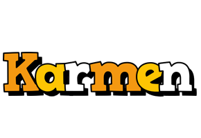 Karmen cartoon logo