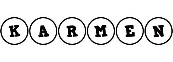 Karmen handy logo